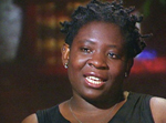 Evelyn Chumbow was trafficked from Cameroon for domestic service.